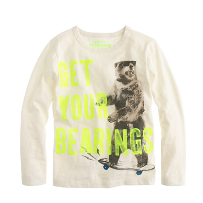 Boys' get your bearings T-shirt
