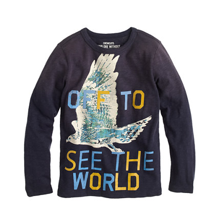 Boys' see the world T-shirt