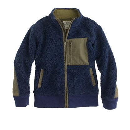 Boys' grizzly fleece jacket