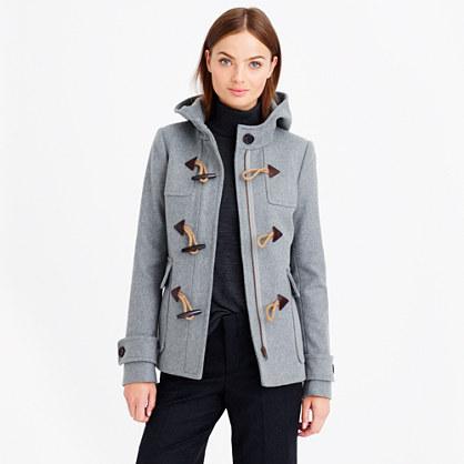 Petite classic duffle coat : outerwear | J.Crew