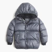 Boys' marshmallow puffer jacket