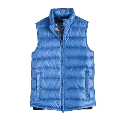 Kids' lightweight down puffer vest