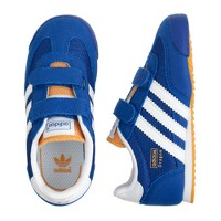 Kids' Junior Adidas® Dragon sneakers in royal blue