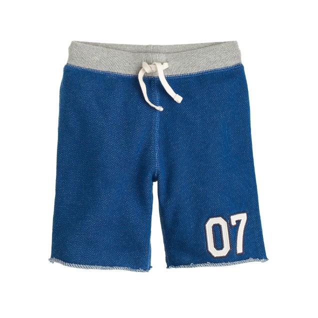 Boys' Cooper sweatshort in varsity #07