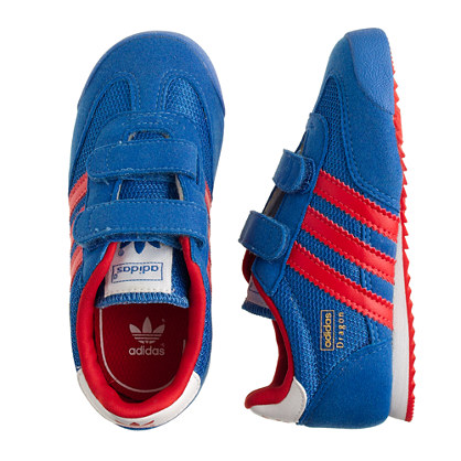 Kids' Junior Adidas® Dragon sneakers in bluebird