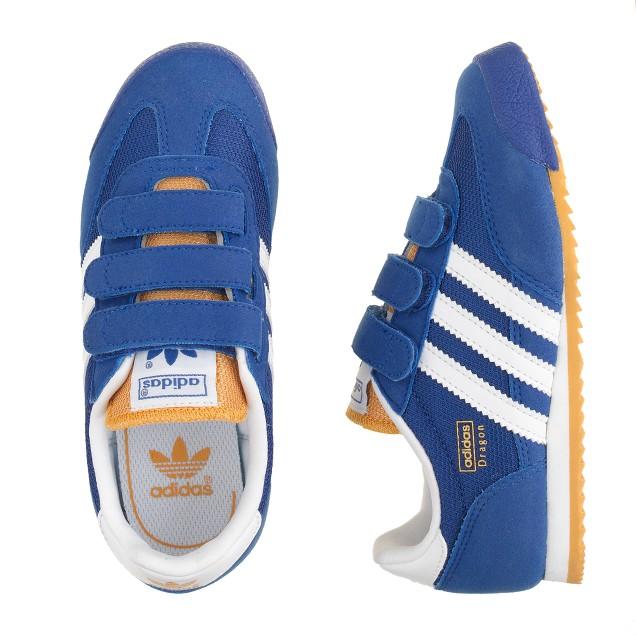 Kids' Adidas® Dragon sneakers in royal blue