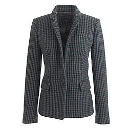 Petite Regent blazer in houndstooth