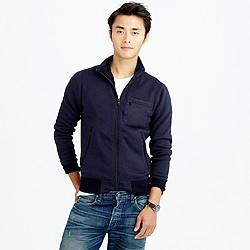 Slim Summit fleece track jacket
