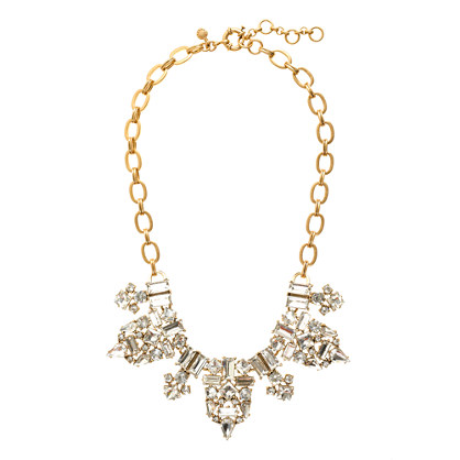 Crystal decadence necklace