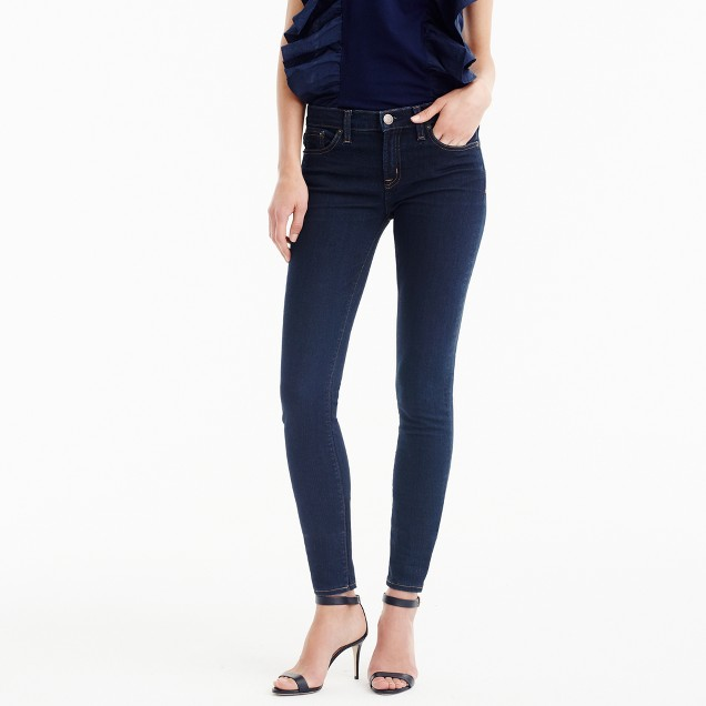 "8"" toothpick jean in classic rinse"