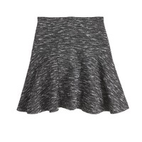 Plaza skirt in tweed