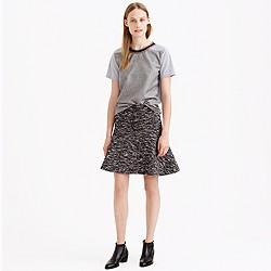 Plaza skirt in tweed