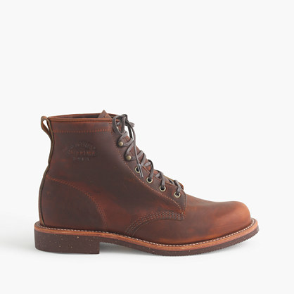 Original Chippewa For JCrew Plain Toe Renegade Boots