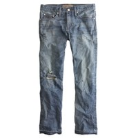 Point Sur vintage cropped Japanese selvedge jean in darwin wash