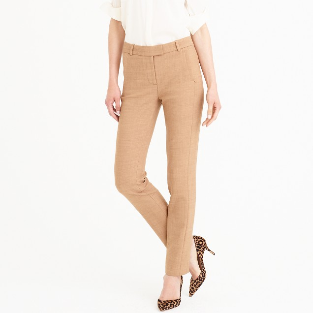 Petite Maddie pant in two-way stretch wool