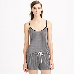 Whisper jersey cami in stripe