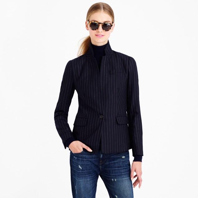 Regent blazer in pinstripe
