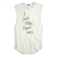 Public School™ for J.Crew Love PS boys tank