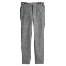 Maddie pant in glen plaid
