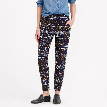 Turner pant in hidden floral
