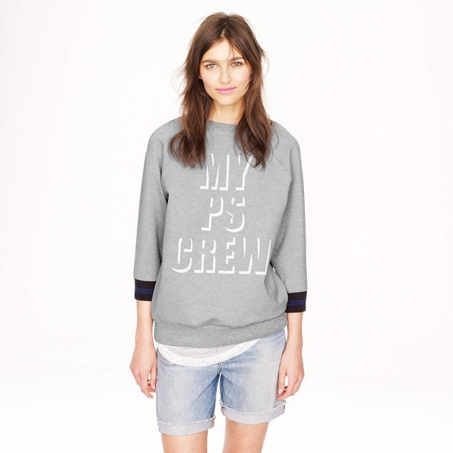 Public School™ for J.Crew PS sweatshirt