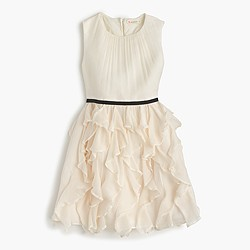 Girls' Cassie dress in crinkle chiffon