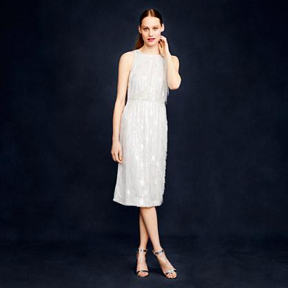 Collection beaded fringe dress
