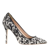 Collection Roxie calf hair pumps