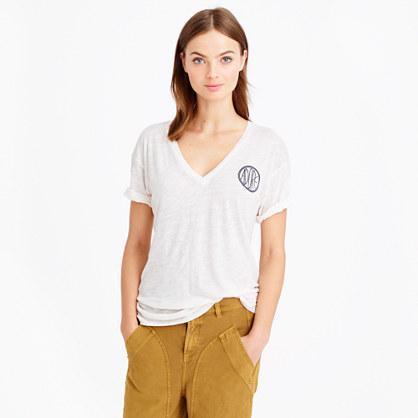 Drapey adore T-shirt