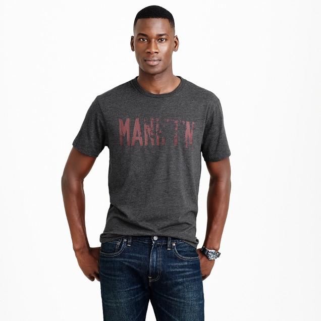 MANHTN graphic T-shirt