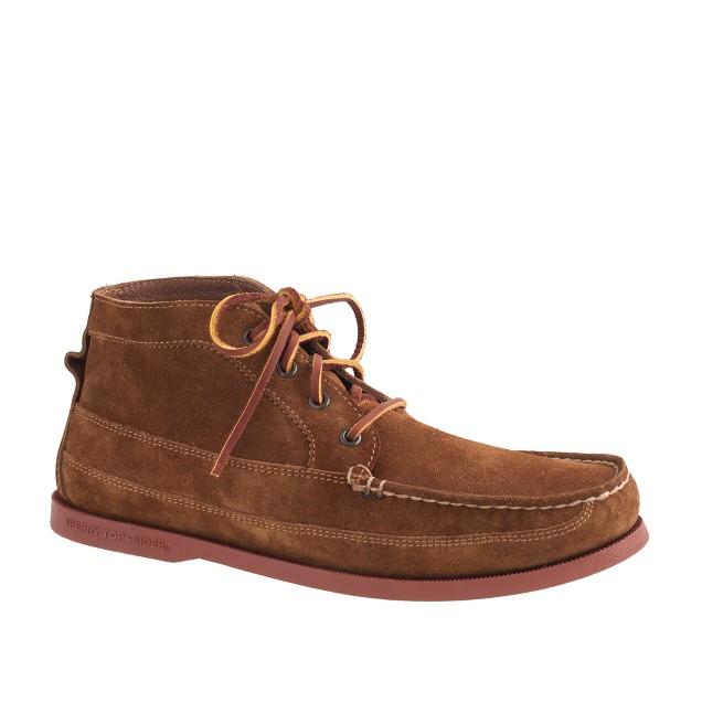 Men's Sperry ® for J.Crew suede chukka boots : Men boots | J.Crew