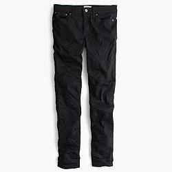 Toothpick jean in black