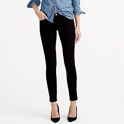 Tall toothpick jean in black