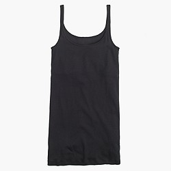 Perfect-fit tank top with built-in bra