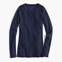 Petite perfect-fit long-sleeve T-shirt