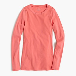 Perfect-fit long-sleeve T-shirt