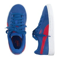 Kids' Puma® suede low-top classic sneakers