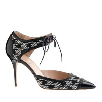 Houndstooth Mary Janes