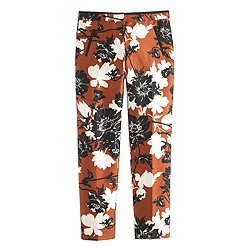 Petite collection ochre floral pant