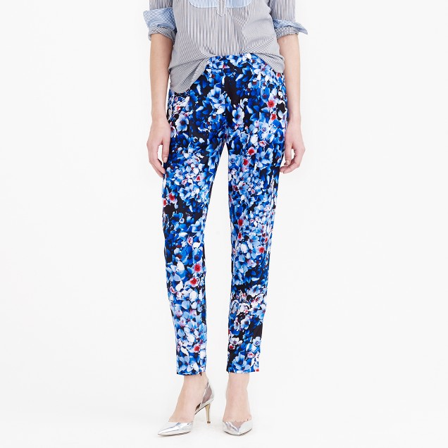 Collection inky floral pant