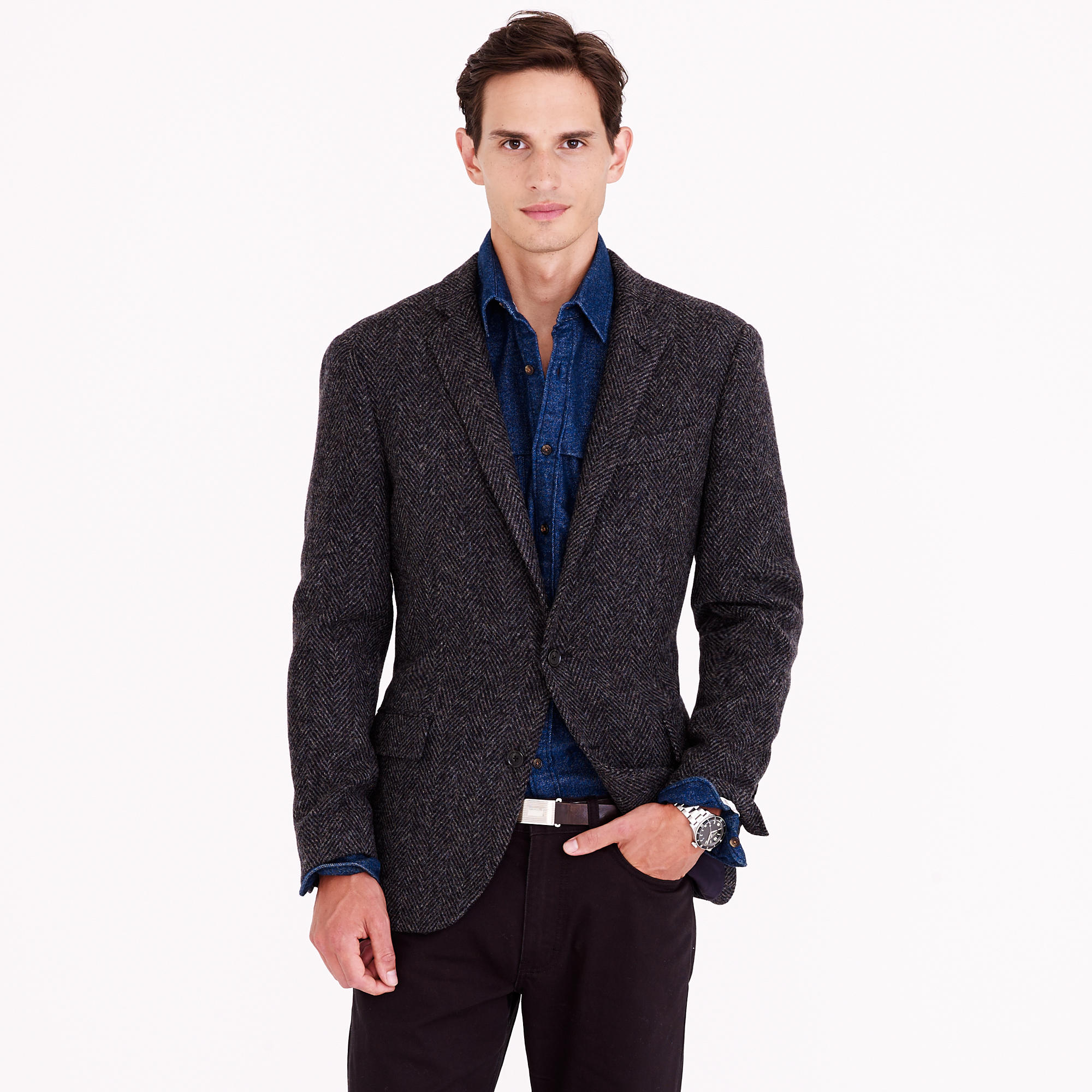 Ludlow sportcoat in herringbone English wool : | J.Crew