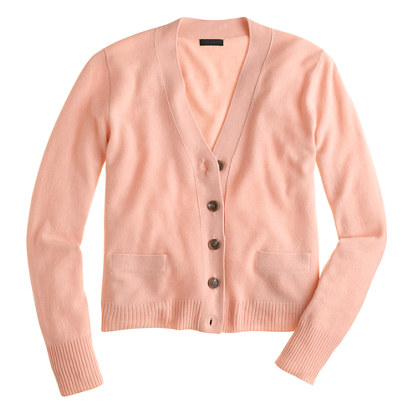 Collection cashmere V-neck cardigan sweater