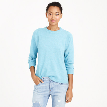 Collection cashmere seamed sweater