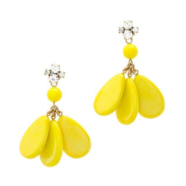 Dangling teardrops earrings