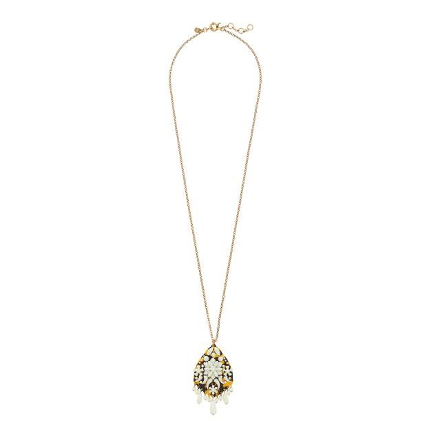 Crystal fiesta necklace