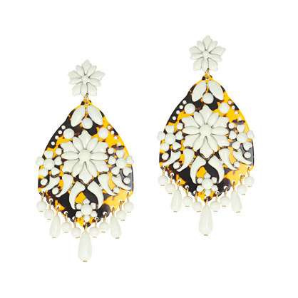 Crystal fiesta earrings