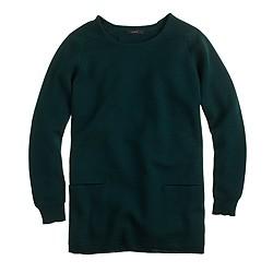 Merino wool pocket tunic