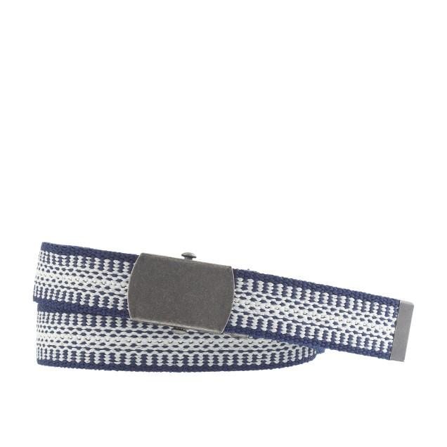 Boys' woven elastic belt