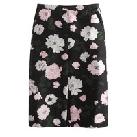 petite Collection midnight floral skirt