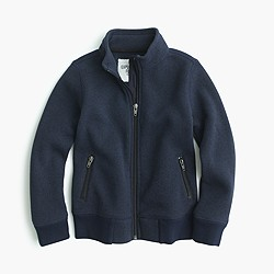 Boys' Summit fleece track jacket